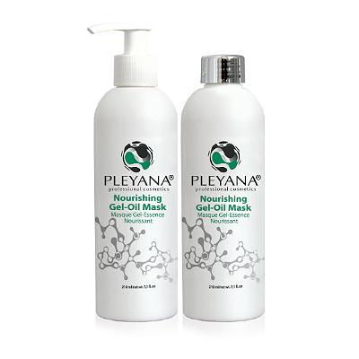 Маска гель-масло питательная 3 в 1 pleyana