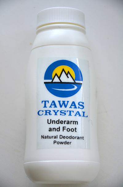 Дезодорирующий порошок кристалл (Tawas Crystal)