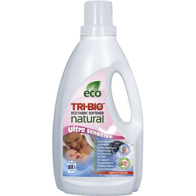 Натуральная эко жидкость для стирки кондиционер-смягчитель tri-bio (TRI-BIO)