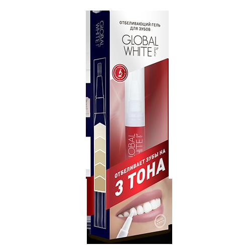 Отбеливающий карандаш-апликатор (гель 6%)  global white