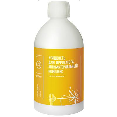 Жидкость для ирригатора антибактериальный комплекс water dent