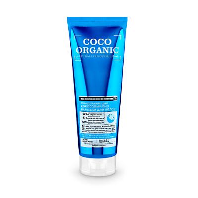Кокосовый био-бальзам для волос organic shop