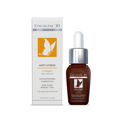 Коллагеновая сыворотка anti stress для кожи вокруг глаз medical collagene