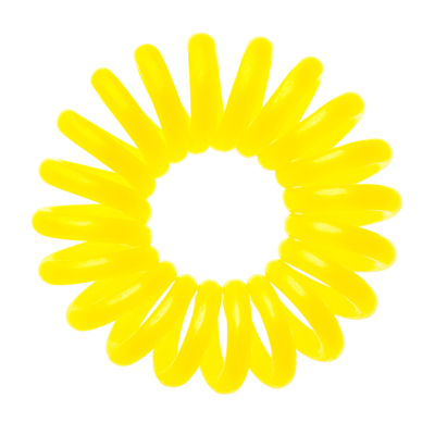 Резинка для волос желтая invisibobble
