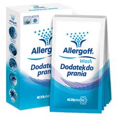 Акарицидная добавка для устранения аллергенов при стирке 6 шт allergoff (Allergoff)