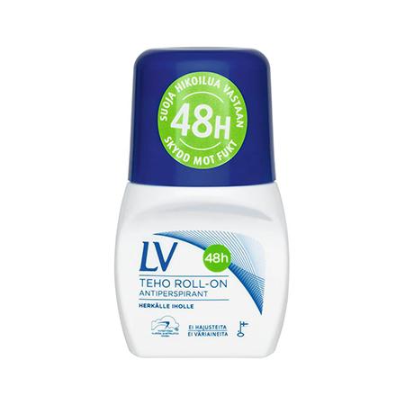 Дезодорант-антиперспирант шариковый 48 часов гипоаллергенный lv