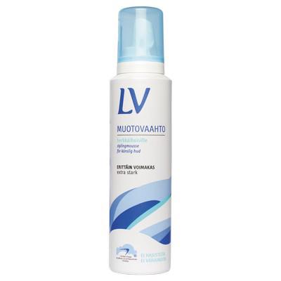 Мусс для волос экстрасильной фиксации гипоаллергенный lv (LV)