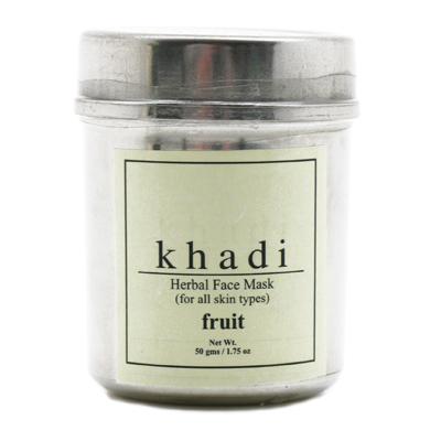 Сухая отбеливающая фруктовая маска-убтан для лица indian khadi (Indian Khadi)