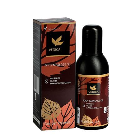 ААША Массажное масло для тела veda vedica