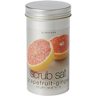Скраб-соль для тела  грейпфрут-имбирь greenland (Greenland)
