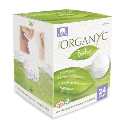 Впитывающие вкладыши для груди organyc (Organyc)