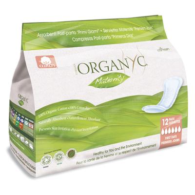 Прокладки для рожениц для первых дней organyc