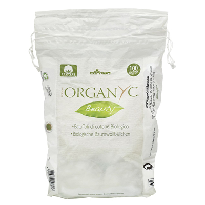 Ватные шарики из органического хлопка organyc