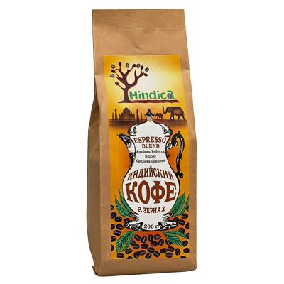Индийский кофе в зернах  espresso blend hindika (Hindika)
