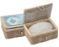 Кристалл свежести в бамбуковой шкатулке 100 гр (Tawas Crystal)