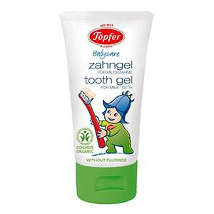 Детская зубная паста для молочных зубов topfer