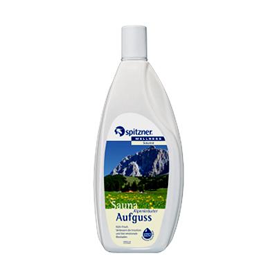Жидкий концентрат для сауны альпийские травы (1000 мл) spitzner