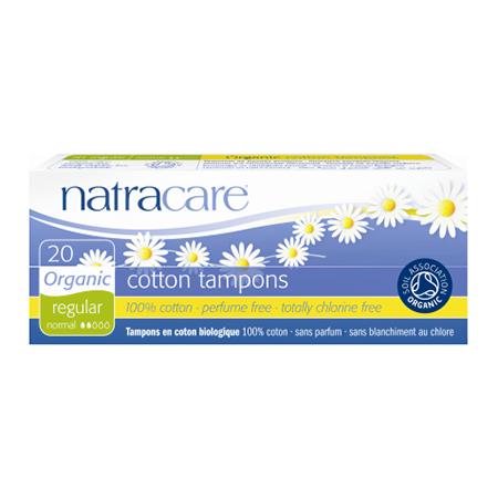 Био тампоны regular без аппликатора natracare (20 шт) (Natracare)