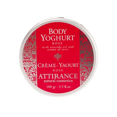 Крем-йогурт для тела роза attirance (100 гр) (Attirance)