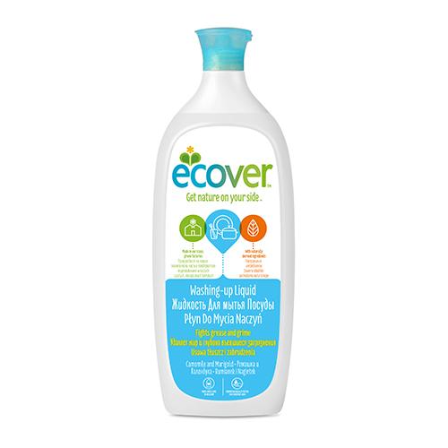 Экологическая жидкость (для мытья посуды) с ромашкой ecover (1000 мл)