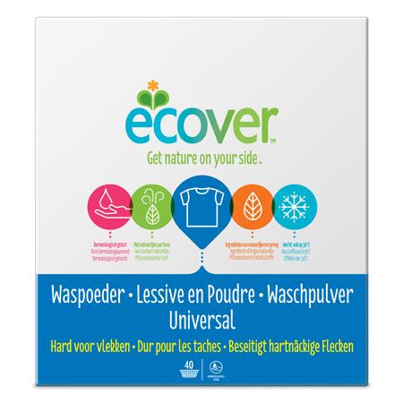 Экологический стиральный порошок-концентрат (универсальный) ecover (3 кг)