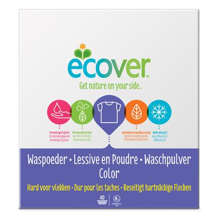 Экологический стиральный порошок (для цветного белья) ecover (3 кг)