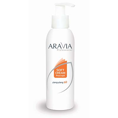 Сливки после депиляции (с дозатором) aravia professional (300 мл) (Aravia)