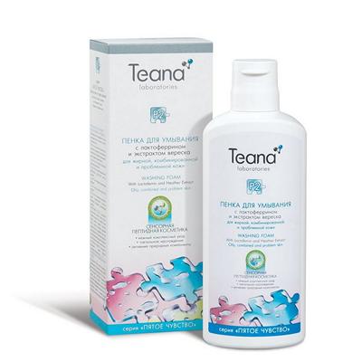 Пенка для умывания для проблемной кожи тиана (Teana)