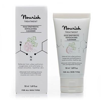 Очищающее средство для лица с экстрактом грюнколя nourish (NOURISH)