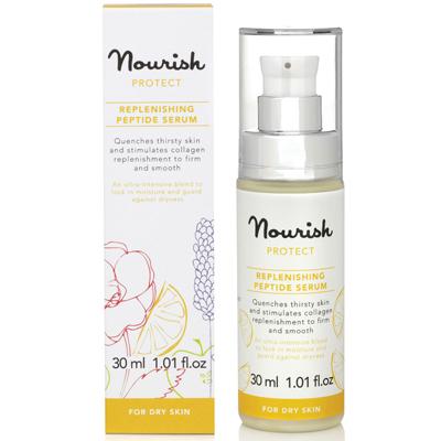 Защитная питательная сыворотка для сухой кожи лица nourish (NOURISH)