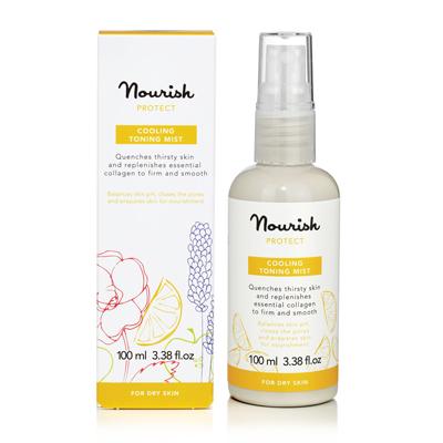 Увлажняющий тоник-спрей для сухой кожи лица nourish (NOURISH)
