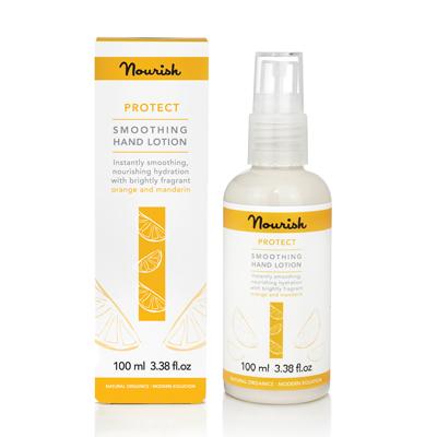 Защитный увлажняющий лосьон для сухой кожи рук nourish (NOURISH)