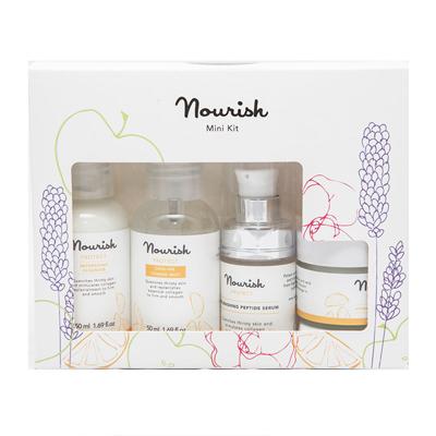 Набор миниатюр для ухода за сухой кожей лица nourish (NOURISH)