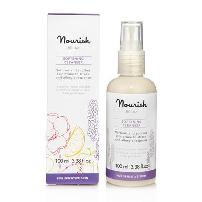 Очищающее молочко для чувствительной кожи лица nourish (NOURISH)