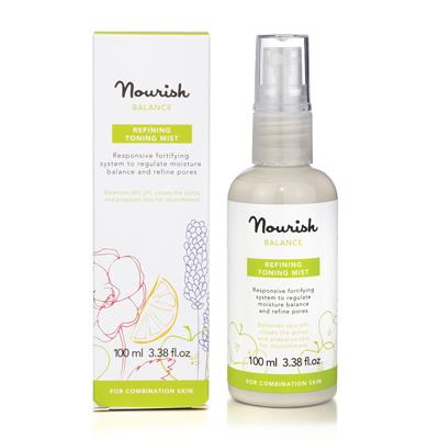 Освежающий тоник-спрей  для смешанного типа кожи лица nourish (NOURISH)
