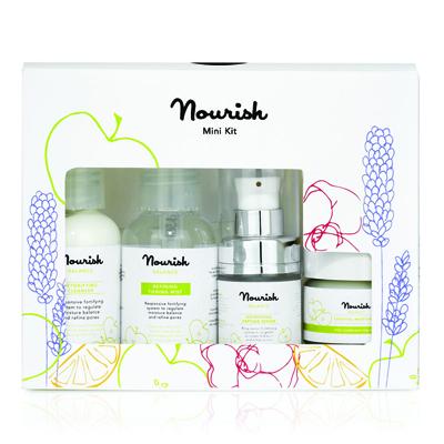 Мини-набор для ухода за лицом для смешанного типа кожи nourish (NOURISH)