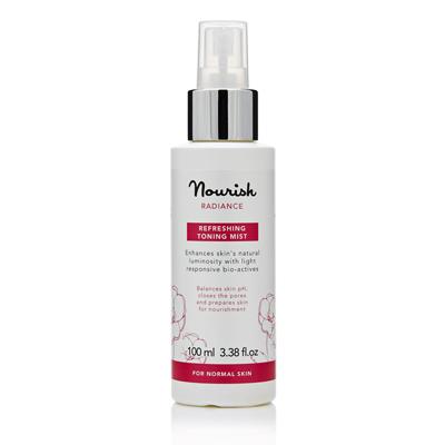 Освежающий тоник-спрей для нормальной и зрелой кожи лица nourish (NOURISH)