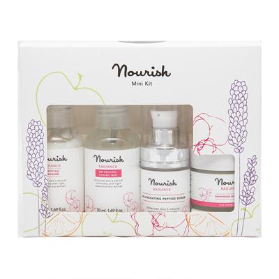 Мини-набор для ухода за нормальной и зрелой кожей лица nourish (NOURISH)