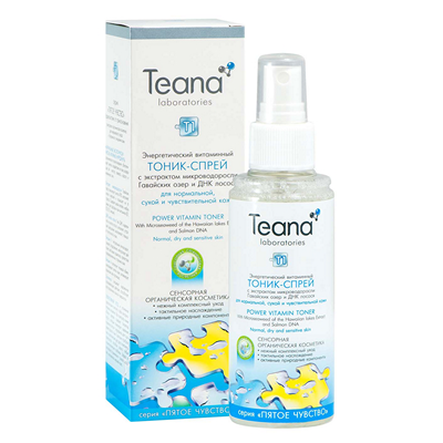 Тоник-спрей для нормальной и чувствительной кожи тиана (Teana)