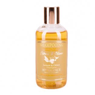 Шампунь лимон и олива против перхоти для жирных волос attirance (250 мл)