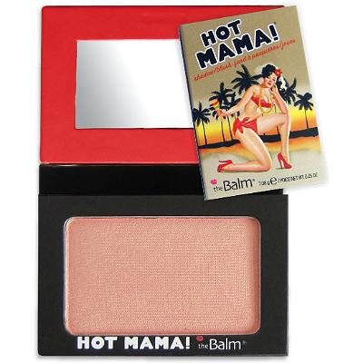 Румяна - хайлайтер hot mama the balm (The Balm)