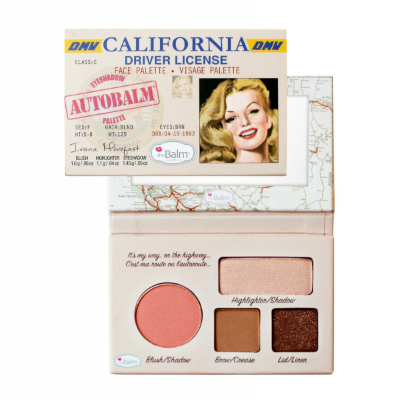 Палетка теней autobalm- california the balm