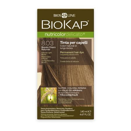 Стойкая крем-краска для чувствительных волос biokap nutricolor delicato (цвет натуральный блондин) biosline