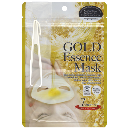 Маска с золотым составом essence mask japan gals