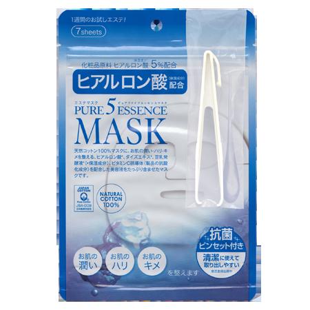 Маска с гиалуроновой кислотой pure5 essential (7 шт) japan gals (Japan Gals)