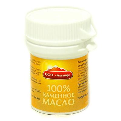 Каменное масло золото алтая (18 гр) альмар (ООО Альмар)