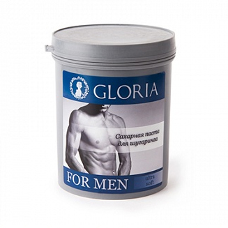 Gloria SPA Паста для мужского шугаринга (мягкая)  for men gloria