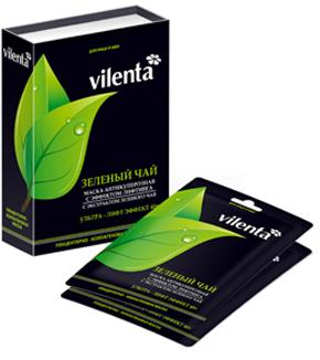 Плацентарно-коллагеновая маска зеленый чай  vilenta (Vilenta)