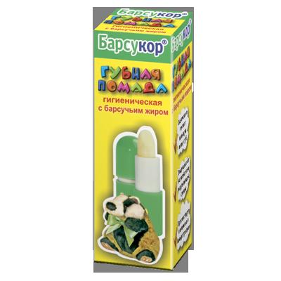 Гигиеническая помада с барсучьим жиром барсукор (Барсукор)