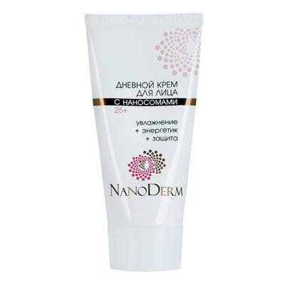 Дневной крем для лица с наносомами 25+ нанодерм (НаноДерм)